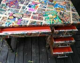 Comic book furniture Etsy