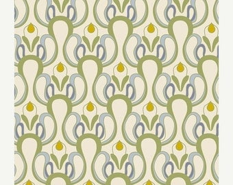 ON SALE - Granada Arches in Cream (AH-423) - Art Gallery Fabrics - Alhambra by Patricia Bravo - By the Yard