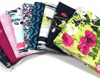 LAVISH Half Yard Bundle (Opulent Palette) -   Katarina Roccella for Art Gallery Fabrics - 10 pieces