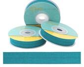 "Malachite - Fold Over Elastic - Solid FOE - 5/8"" Wide - 5 Wholesale Yards"