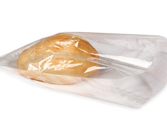 10 Compostable Cello Bags // Eco Friendly // Biodegradable // Food Safe // Packaging