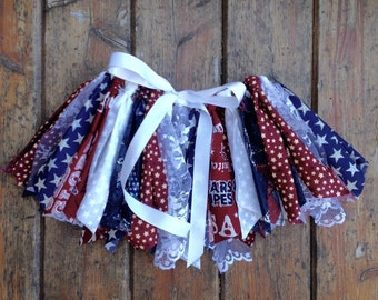 4th of July Scrap Tutu