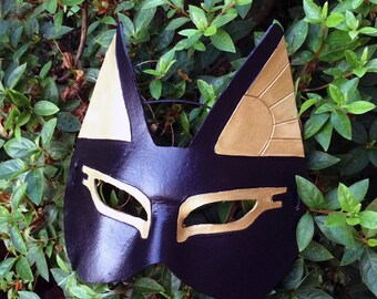 Egyptian Cat God Goddess Bastet Anubis - Handmade Warrior Costume Fantasy Renaissance Festival Masquerade