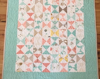 Handmade Quilted Baby Quilt