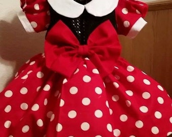 Fancy MINNIE MOUSE Inspired