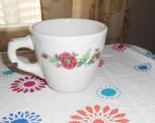 Syracuse China Vintage Floral Mug / Cup