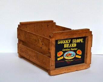 Vintage Racecar Crate Storage