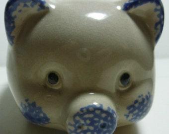 Delft Vintage Piggy Bank, 1980s
