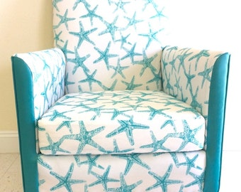 Teal Accent Chair Etsy