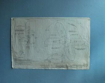 original drawing schematic in pencil on vellum series B
