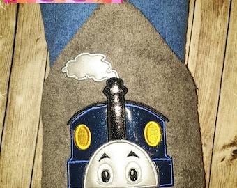 Custom Thomas Train Hooded Towel