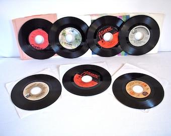 Vintage 45s Lot of 7 70s Soul R&B Funk Jazz Disco Chic Dance, Dance, Dance Rare Record 1970s