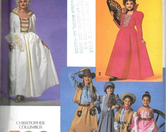 Simplicity 7471 Adult Marie Antoinette Queen Isabella Dance Hall Pattern Size 6, 8, 10, 12, 14, 16 and 18 UNCUT