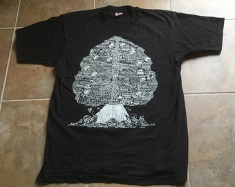 Vintage Old Testament Family Tree Tee Shirt