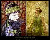 1920s Headband,Art Nouveau,1920s Headpiece,1920s Dress Headband,Flapper Headband,Belly Dance,1920s Headdress,Beaded Headpiece,Boho Headpiece