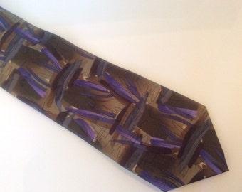 Jerry Garcia Oak Tree Silk Necktie