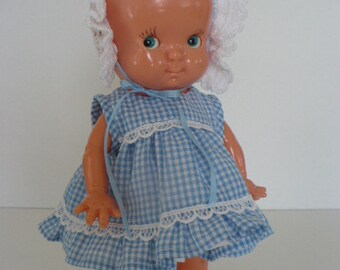 10 IN. Irwin Plastics Doll Dress Pattern