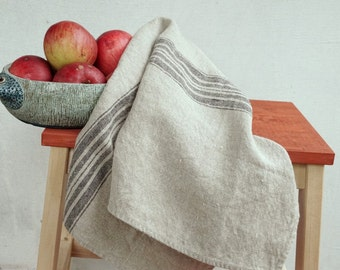 Linen Tea Towels-Hand Towels- Natural Linen Tea Towels