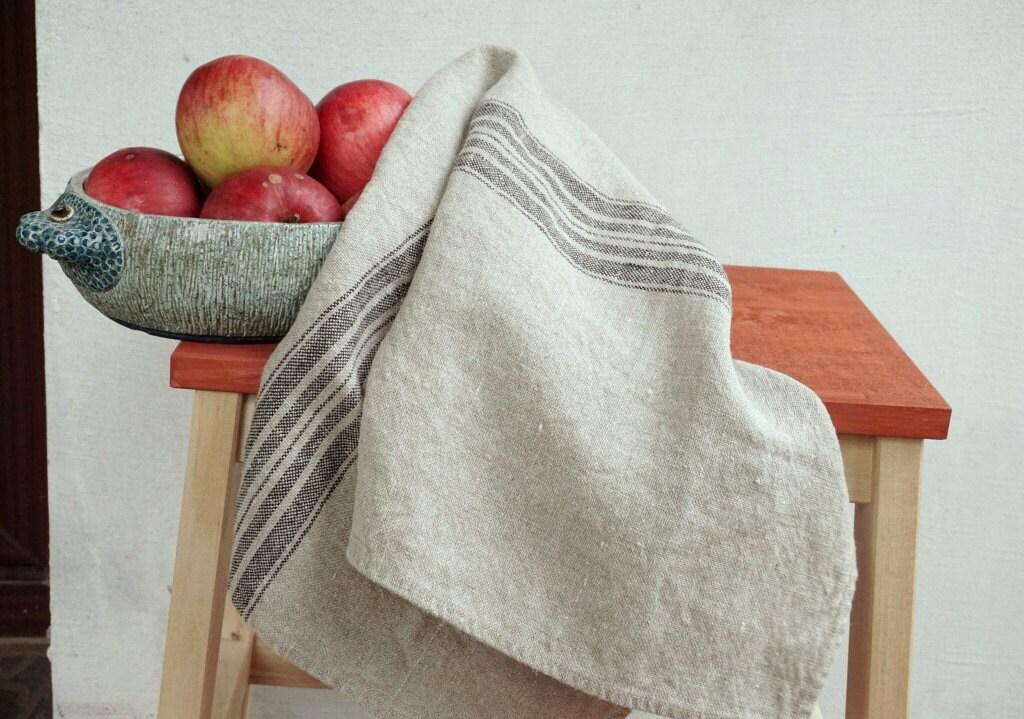 linen tea towels hand towels natural linen tea towels. Black Bedroom Furniture Sets. Home Design Ideas