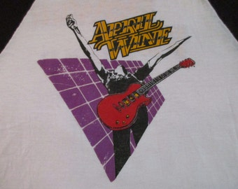 APRIL WINE 1982 tour T SHIRT