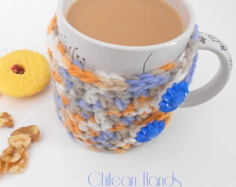 Mug's coaster & cozy - Available in English and Español-