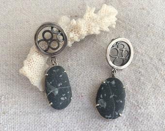Marin Beach Rock Earrings