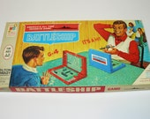 1967 Battleship Naval Action Game You sunk my Battleship Milton Bradley Strategy and Luck