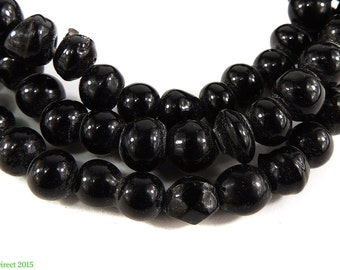 Trade Beads Black Africa 23 Inch 97903