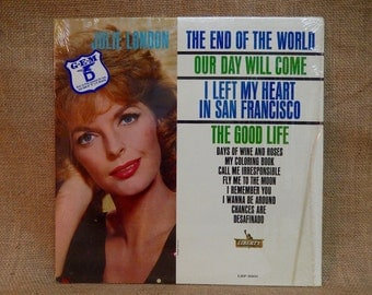 JULIE LONDON - The End of the World - 1963 Vintage Vinyl Record Album
