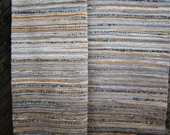 Handwoven ,,grey rock'' -5.03' - 6.74'ready for sale