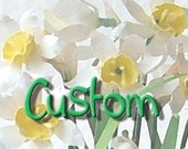 Custom Listing for Jesse