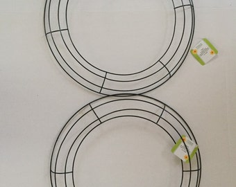 """Two Wire Wreath Forms 14 1/4"""""""