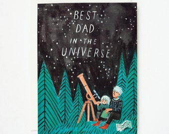 Best Dad in the Universe 1pc