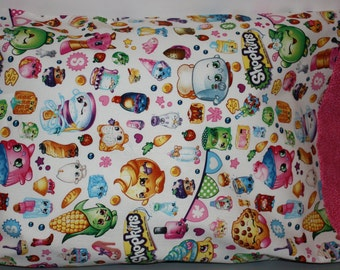 Shopkins  Travel/Toddlers Pillowcase   or Standard Size