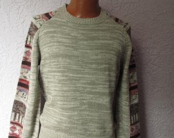 70's Vintage Men's Huk-a-Poo Space Dyed Sweater Med/Lg