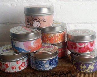 White Tea & Berries  Soy Candle 6 oz.