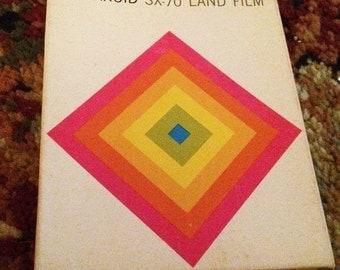 polaroid sx-70 film EXPIRED 1974