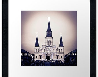 St. Louis Cathedral, Framed Print