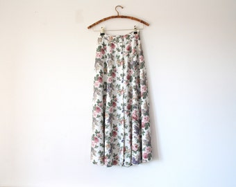 button down maxi skirt