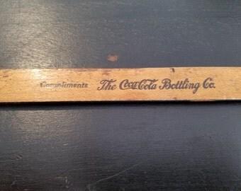 Coca Cola Bottling Co. 1935 Golden Rule Ruler. Made in U.S.A.