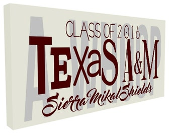 Graduation gift, FTA Ring Day, Texas Aggies, Gig Em, 12th Man, TAMU Sign, Fightin' Texas Aggie, College Graduation, Texas A&M, A-Whoop,