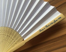 15+ personalised wedding paper fans wedding on sale free postage