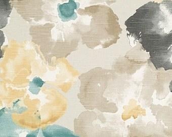 Designer Pillow Cover - 18 x 18, 20 x 20, 22 x 22 - APMA Watercolor Floral Dew