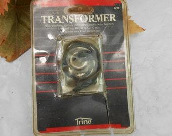 vintage doobell transformer doorbell chime transformer vintage doorbell transformer 1986 low voltage door chime transformer Trine part 22C