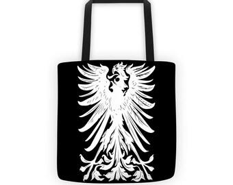 Eagle Crest Black Designer Tote Bag