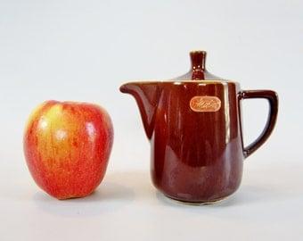 Vintage Modern Teapot Mini MELITTA Germany NO DRIP Espresso Coffee Tea 1960s