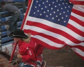 Digital Photo Download American Cowgirl in Action