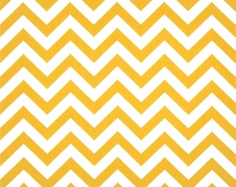 Premier Prints Yellow Chevron/Zig Zag