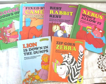 Sweet Pickles Book Collection/Rest Rabbit/Goose Goofs Off/Zip Goes Zebra/Lion is Down in the Dumps/Xerus Won't Allow It/Fixed by Camel