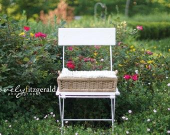 SET OF 5 ** DIGITAL Photography Backdrops ** Instant Download Newborn Prop Backdrop Background - Digital Newborn Basket Prop